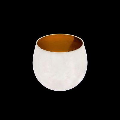 Vintage Tiffany & Co. Makers Sterling Silver Sake Nesting Shot Cup Glass No Mono