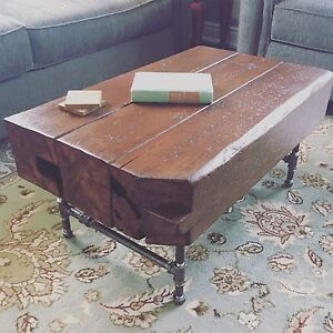 New reclaimed coffee table