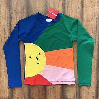 Hanna Andersson Rashguard Rainbow Sunshine Size 12 (150)](Rainbow Sunshine)