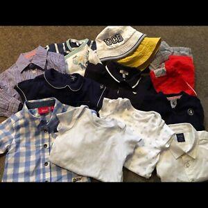 Designer baby boy clothes bundle - 13 items