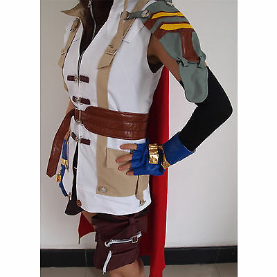Brand new Final Fantasy XIII Lightning Halloween Cosplay Costume size L  (Final Fantasy 13 Halloween)