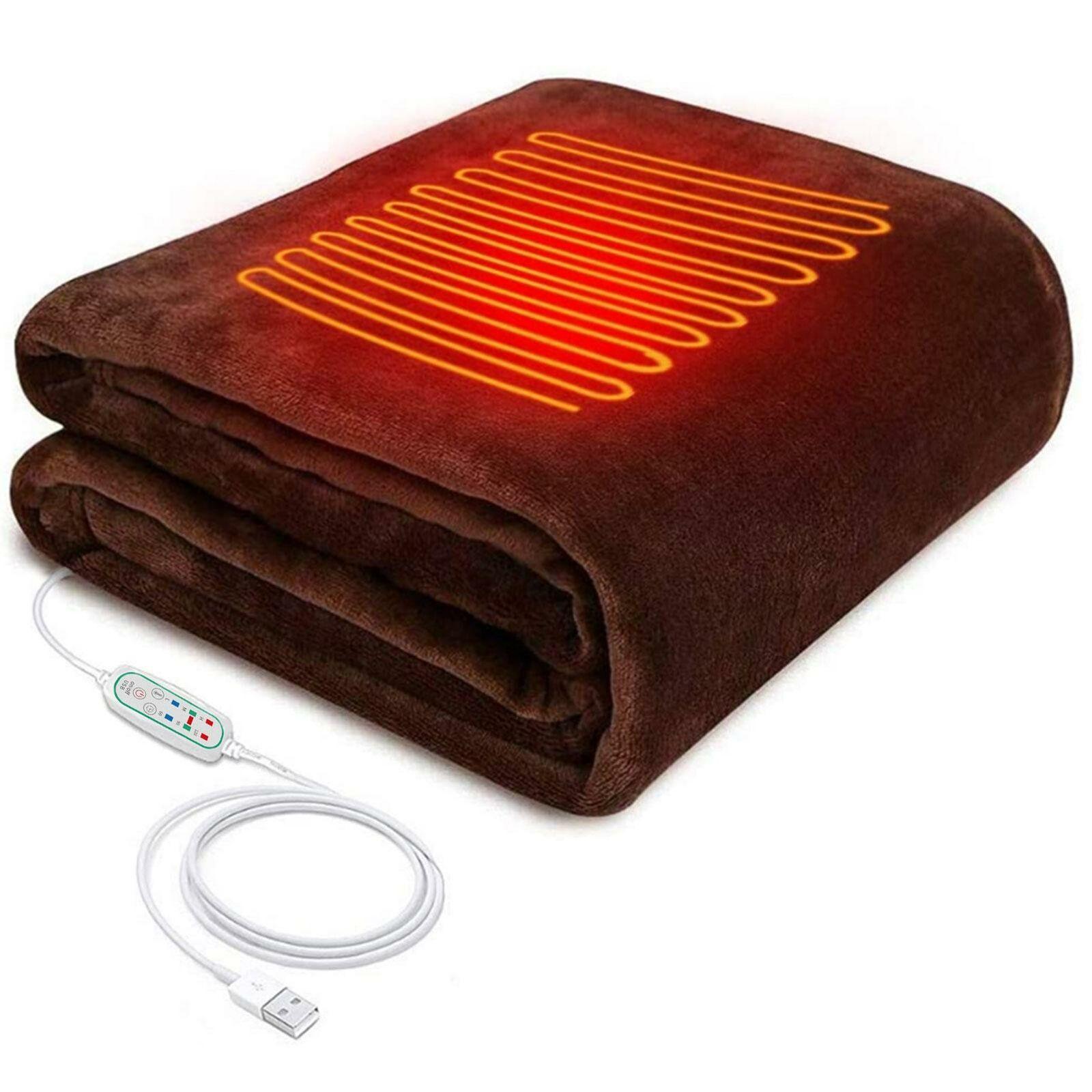 USB Heated Shawl Winter Electric Warming Neck Shoulder Heati