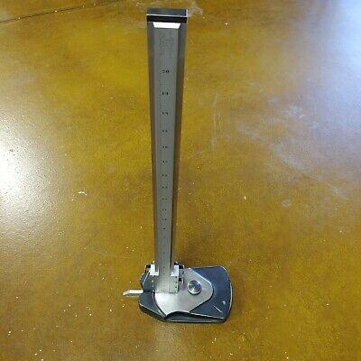 Starrett No. 254 18 Master Vernier Height Gage W Fine Adjustment Made In Usa