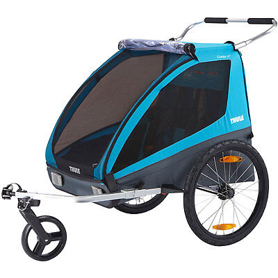 Thule Coaster XT 2 Bicycle Trailer Transport Trailer Pushchair Buggy Earrings