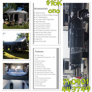 Camper trailer Whyalla Whyalla Area Preview