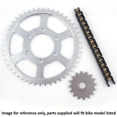 <em>YAMAHA</em> XS500 A B SPOKE WHEEL 1976 ULTRA HEAVY DUTY CHAIN AND SPROCKET