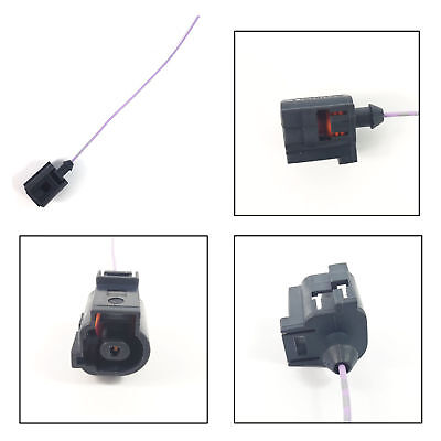 VW VOLKSWAGEN PEUGEOT RELAY PLUG EXTENSION WIRING HARNESS LOOM 1 PIN CONNECTOR