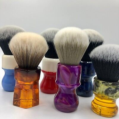 (Yaqi NEW Collection Synthetic Shaving Brush High Quality Bristles Tuxedo Knot)