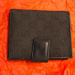 GUCCI genuine leather and canvas wallet Lewisham Marrickville Area Preview