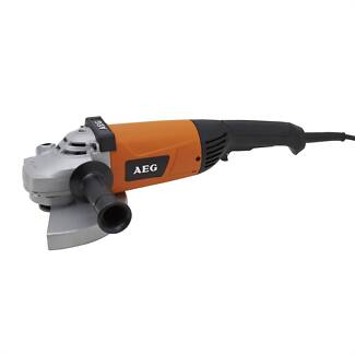 AEG 7.5 inch angle grinder, corded.