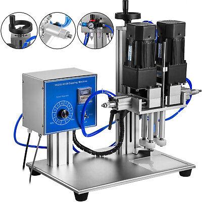 Semi-automatic Capping Machine Pneumatic Desktop Bottle Screw Capper 0.6-2.2 In