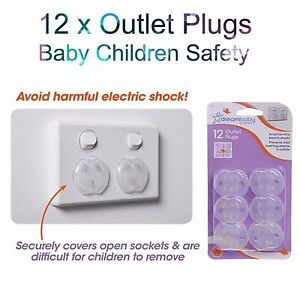 12 x baby child safety plug power board socket outlet point protective covers ebay. Black Bedroom Furniture Sets. Home Design Ideas