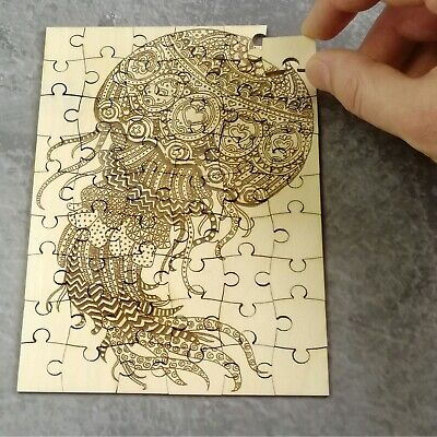 New Russian wooden Pieces puzzle Jigsaw