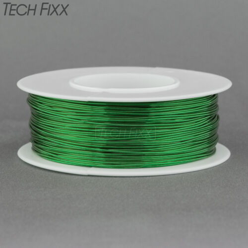 Magnet Wire 26 Gauge AWG Enameled Copper 315 Feet Coil Winding and Crafts Green