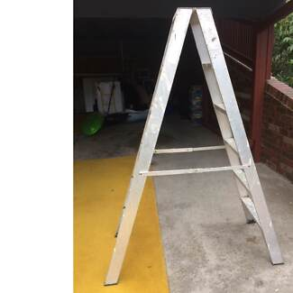 Aluminium Ladder 1.8 metres Double Sided