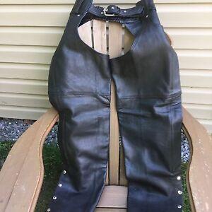 Pantalon cuir  Sharp