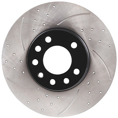 FRONT DRILLED GROOVED 288mm BRAKE DISCS FOR SAAB 900 9-5 9-3 YS3 2.0 2.3 2.5