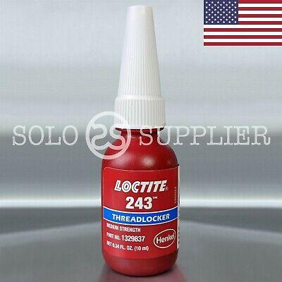 Loctite 243 Blue Medium Strength Threadlocker 10ml Usa - Exp 2022