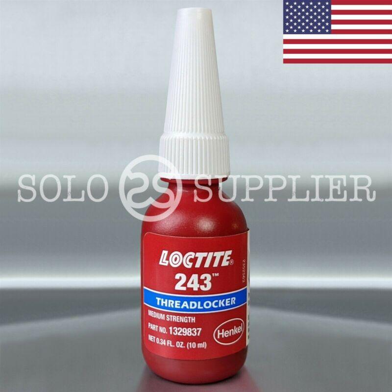 Loctite 243 Blue Medium Strength Threadlocker 10ml USA