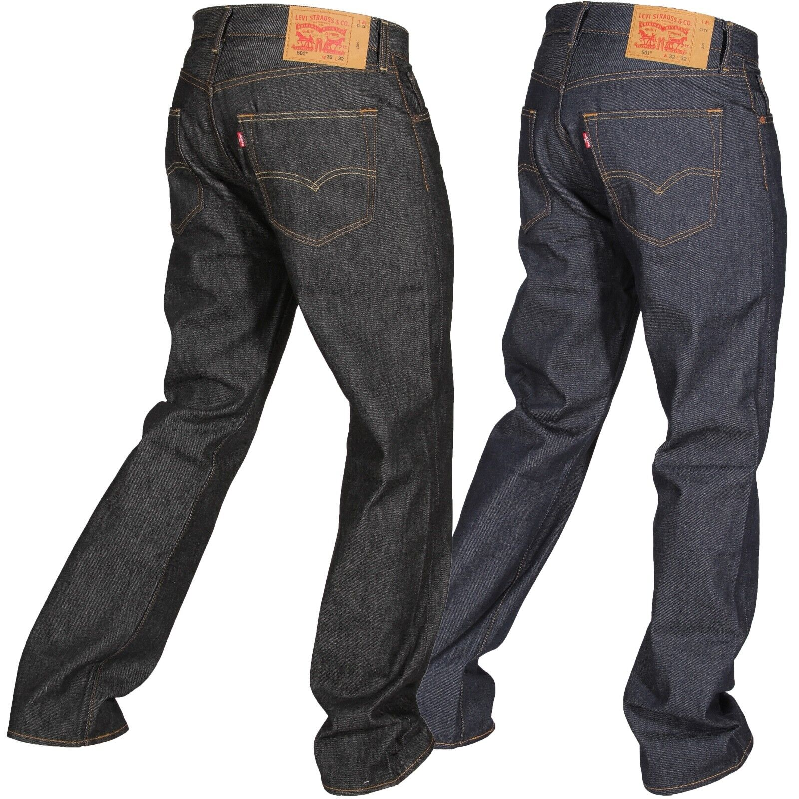 Levi/'s 501 shrink to fit jeans NWT mens/' 42 x 32 button fly