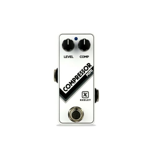 Keeley Compressor Mini Pedal - Limited Edition White