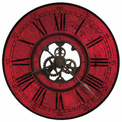 Howard Miller 625-569 (625569) Brassworks II Oversized Wall Clock