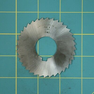 1one Slitting Slotting Saw Blade 0.040 X 2-1116 Hss Machinist Cutting Tooll