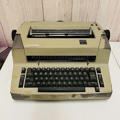 Ibm Personal Electric Typewriter Vintage