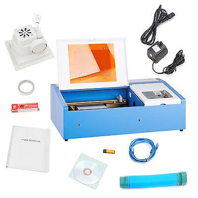 Co2 Laser Engraving Machine Cutting Engraver 40w Laser Tube Safe Durable Use