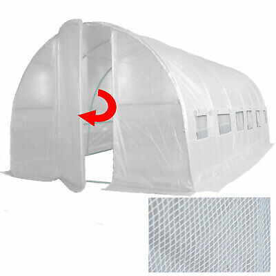 Shipped 1/5  6m x 3m Poly Tunnel Polytunnel Pollytunnel Greenhouse Green House