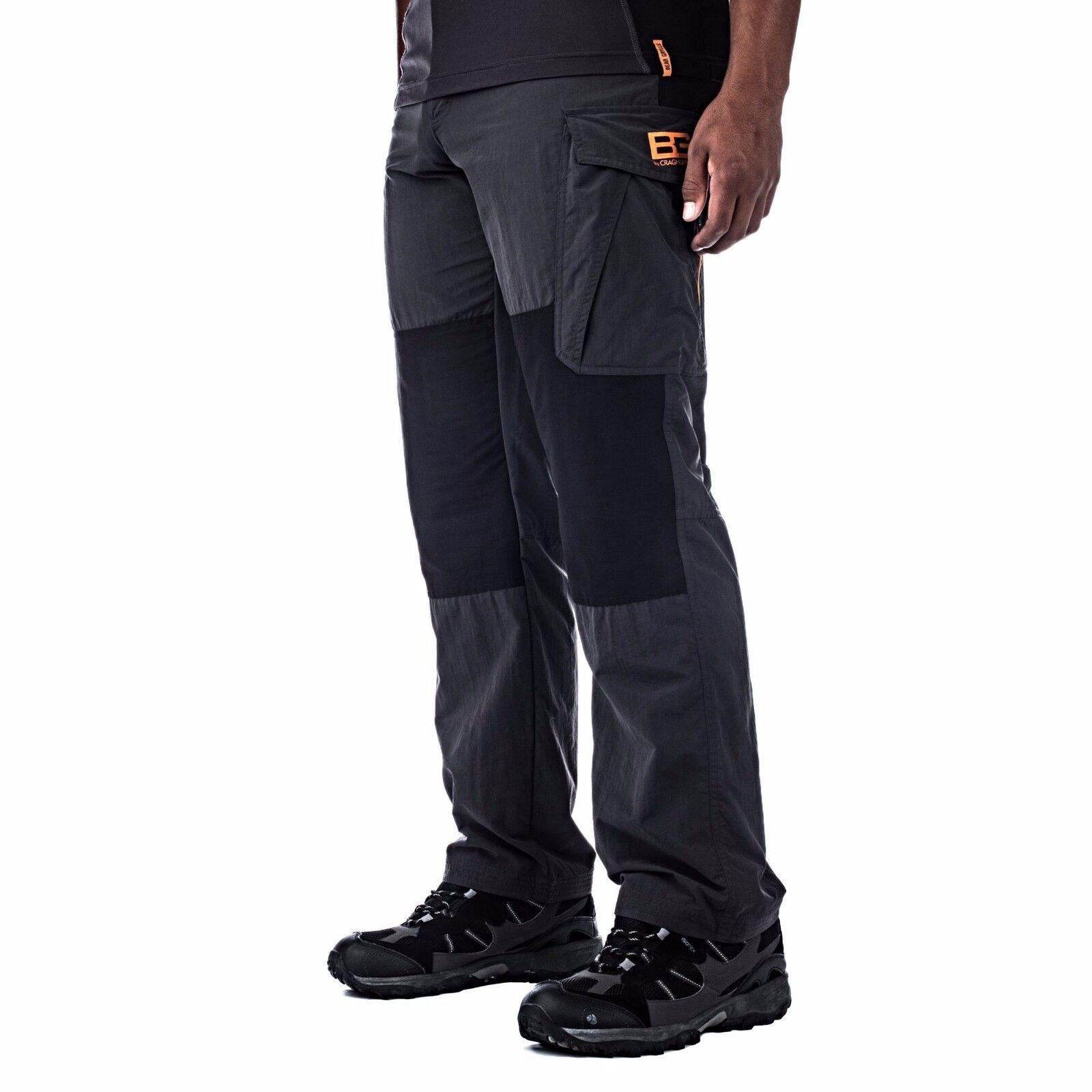 Bear Grylls Uomo Survivor Da passeggio Pantaloni CMJ392 Rambling