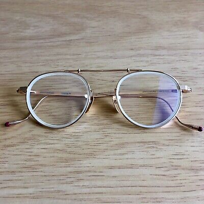 Authentic NEW Jacques Marie Mage Apollinaire JMMAN2J Rose Gold Glasses £895