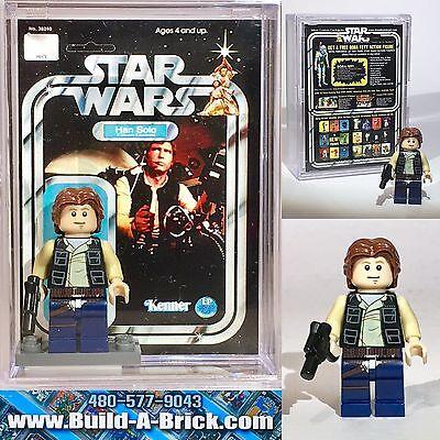 for Star Wars NEW cus261 Endor Lego Han Solo Minifigure CUSTOM
