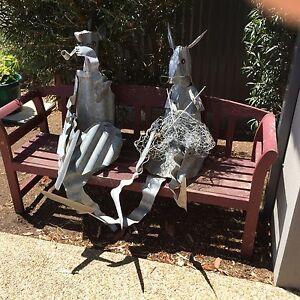 Corrugated Iron Kangaroos-MAKE AN OFFER Mornington Mornington Peninsula Preview