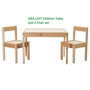 ikea childrens table and chairs ebay