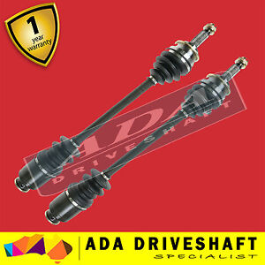 2 x TOP QUALITY NEW FRONT CV JOINT DRIVE SHAFT  TO SUIT SUBARU LEONE 79-84