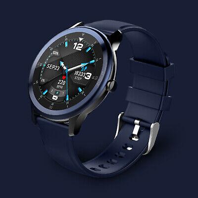 NUOVO G28 SmartWatch Bluetooth 5.0 Smart Bracelet Fitness Tracker IP68 Blu C1V8