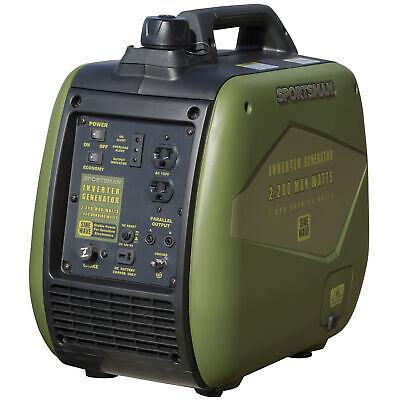 2200 watt inverter generator carb approved