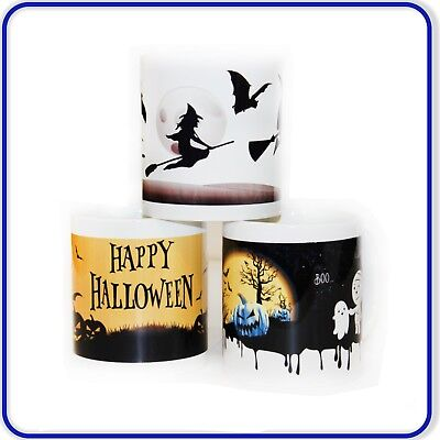 New Good Quality Printed Halloween Pumpkin Designer Mugs - Perfect Gift Present!