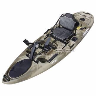Siren Pedal Kayak Perth 3.2m Fishing | Recreational