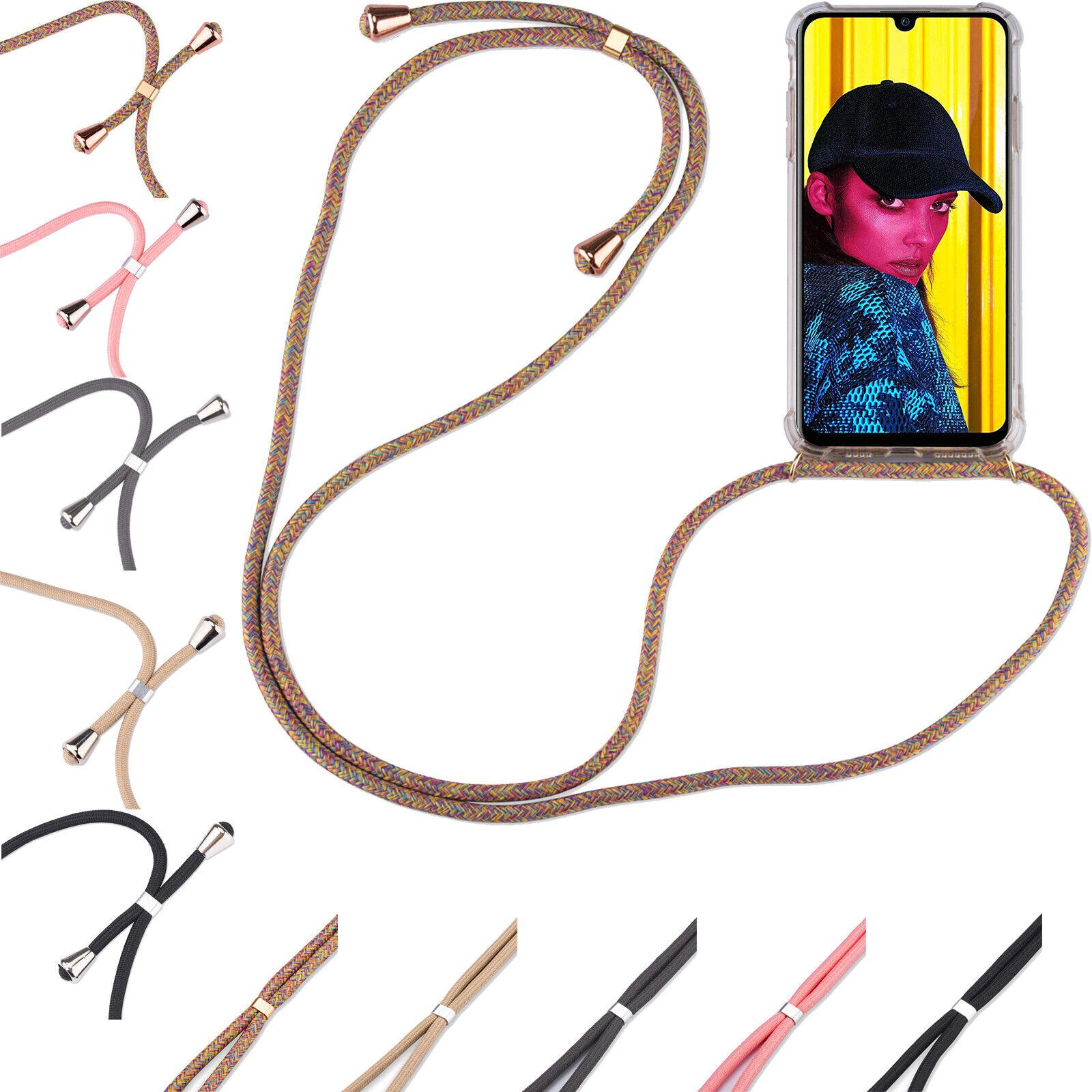 Handy Hülle mit Band Schutzhülle Handykette Seil Silikon Handy Tasche mit Schnur