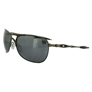 Oakley Ti Crosshair Pewter w/Blk Iridium Polarized