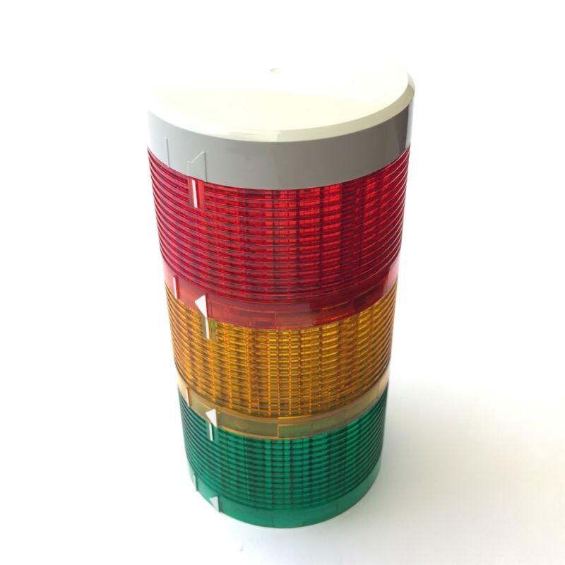 Patlite LU7-E Stack Light Tower LED Red Amber Green Lens Lamp Module 70mm, 24VDC