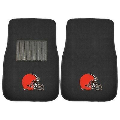 Cleveland Browns 2 Piece Embroidered Car Auto Floor -
