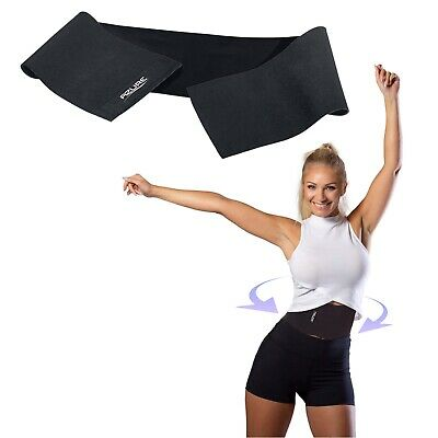 Azure Slimming Belt Toning Waist Ab Stomach Tummy Belly Lower Back Support for sale  Shipping to Ireland