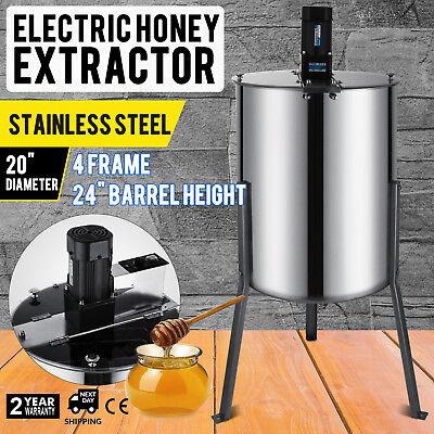 Pro Electric 48 Frame Stainless Steel Honey Extractor Beekeeping Equipment Drum