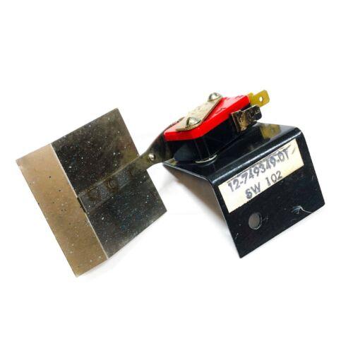Honeywell 12-749349-01 Micro Switch Fan Switch, SPDT,