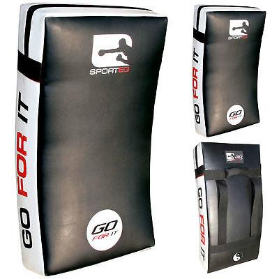 Sporteq Martial Arts Large Curved Training Kick,Strike Shield,Punch Pad, UK