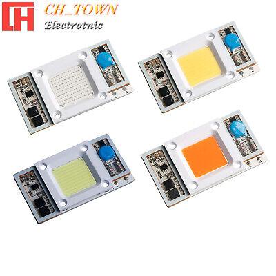 1pcs Smart Ic Driver 50w Led Lights Cob Chip White Floodlights Input Ac110v Usa