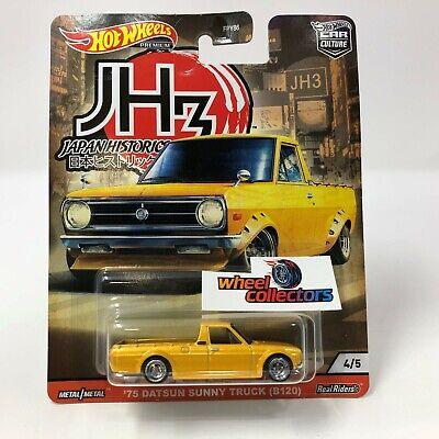 '75 Datsun Sunny Truck B120 2020 Hot Wheels Japan Historics 3 Car Culture Case P